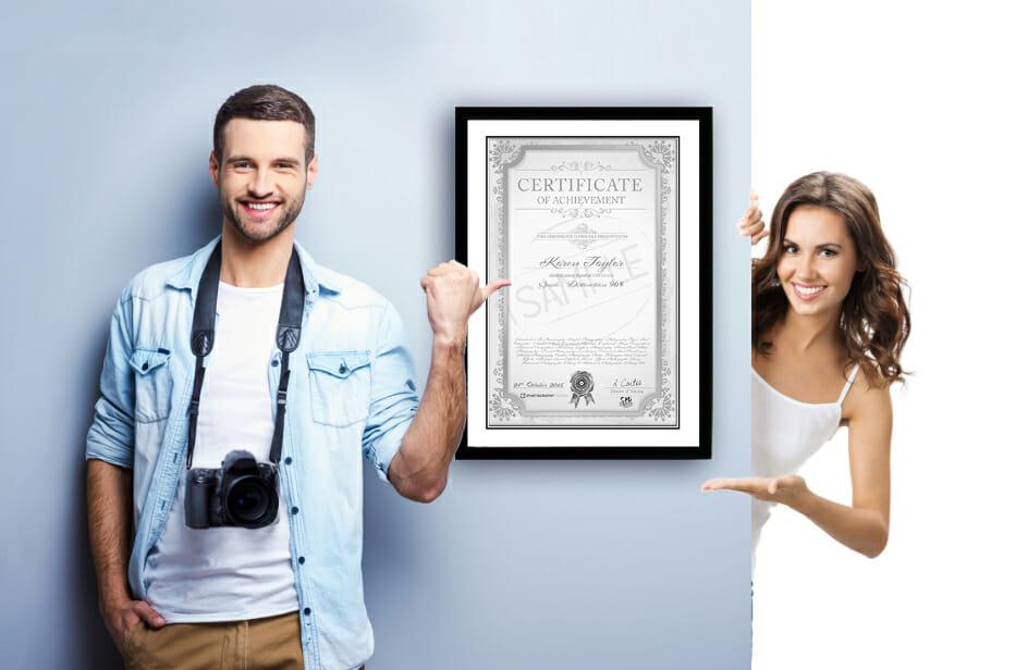 photography school certificate