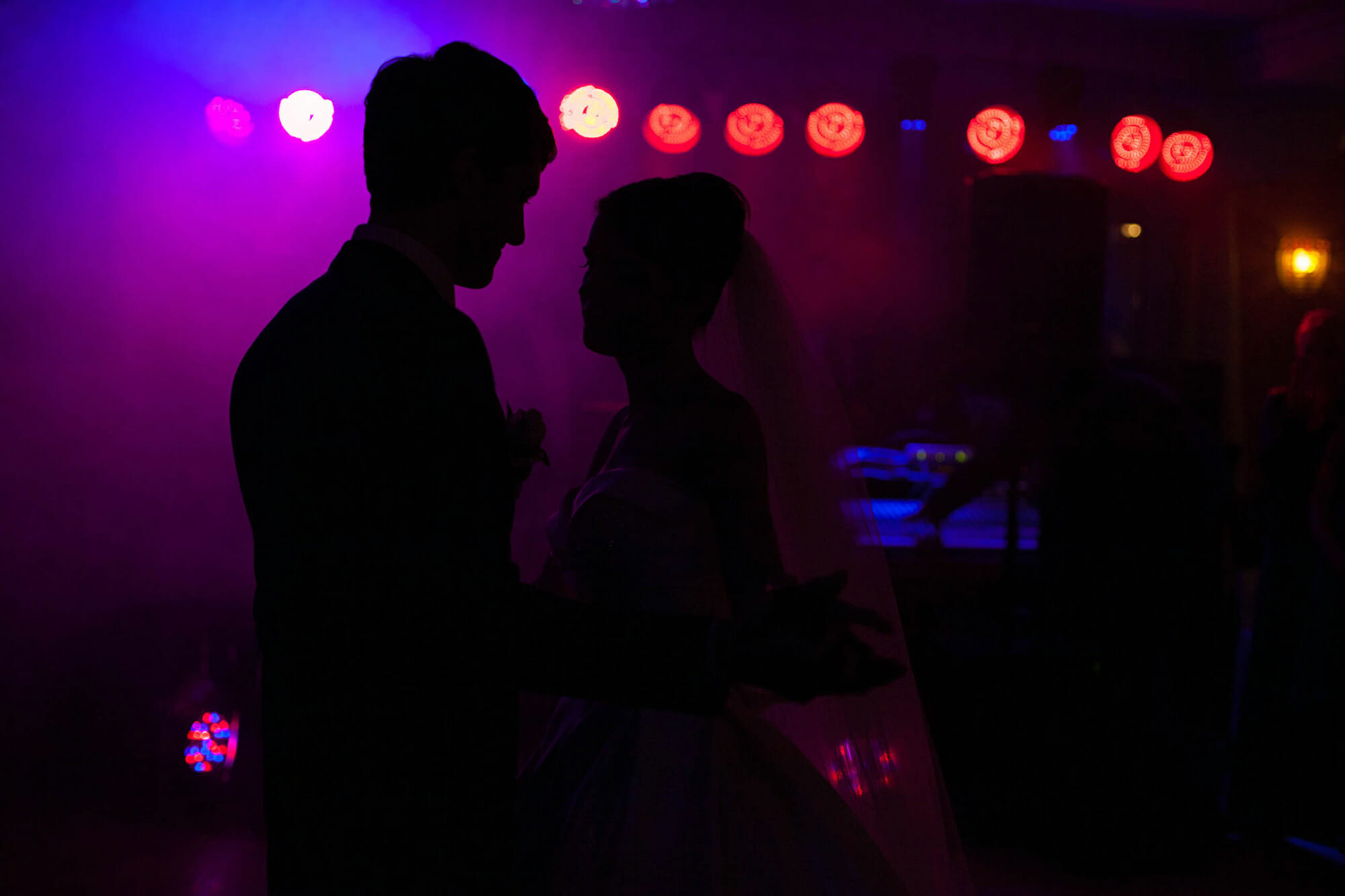 photographing the first dance