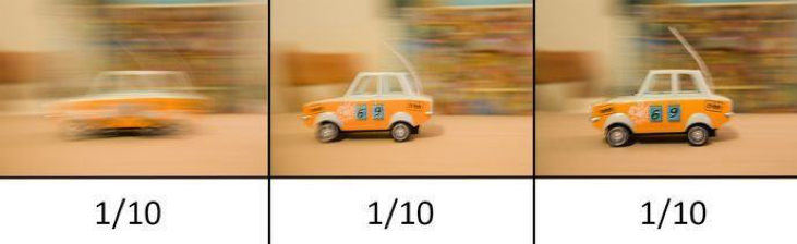 car shutter speed orange blur toy example photography