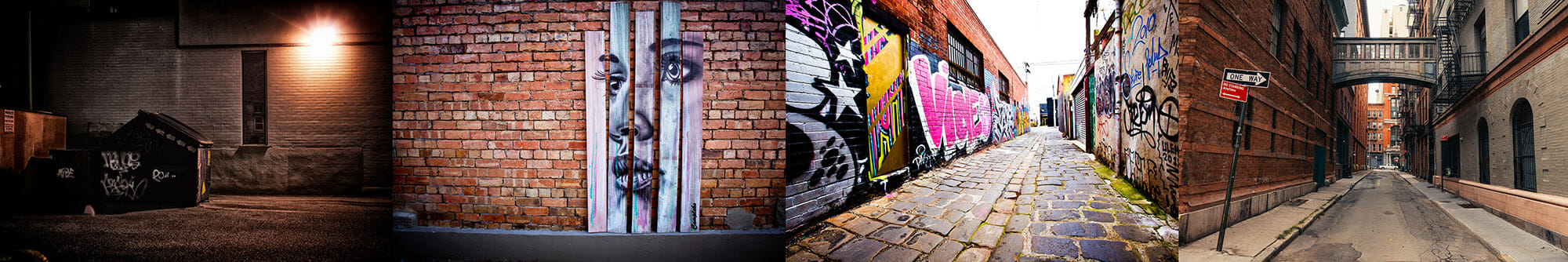 wall alleyway graffitti light night urban art spray paint street photography portrait city people camera subject light how to tutorial guide