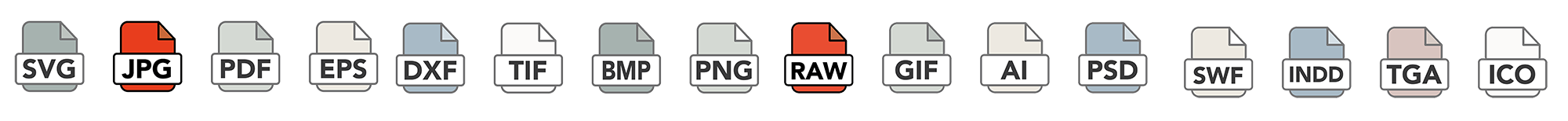jpeg JPEG RAW raw file types icon