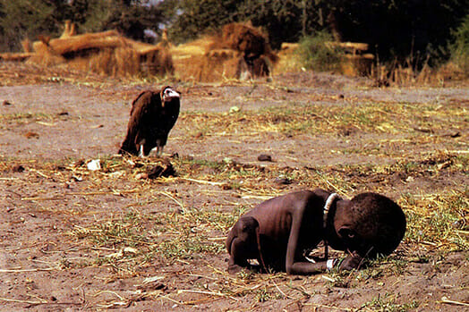 Iconic: The Vulture and The Little Girl by Kevin Carter (1993)