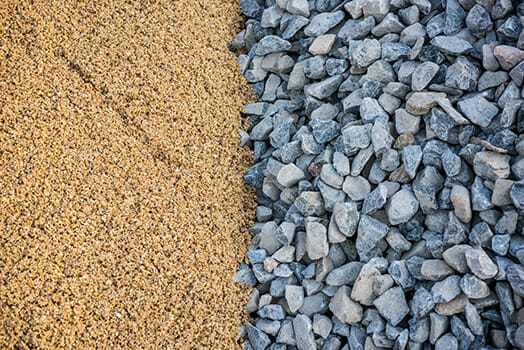 sand rocks stones contrasting textures