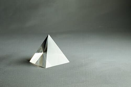 prism fractal triangle light