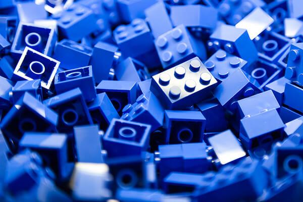 blue lego bricks iphotography game