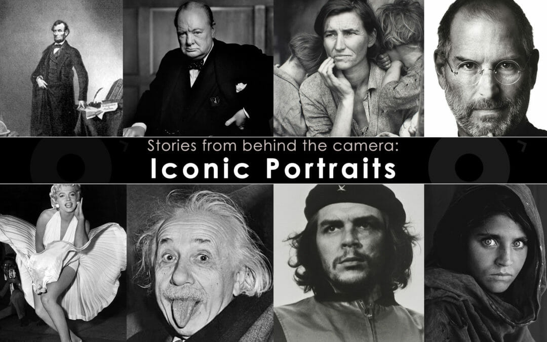 Stories From Behind the Camera: Iconic Portraits