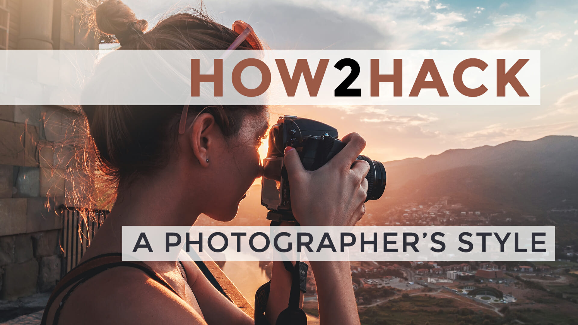Hack a Photographer's Style