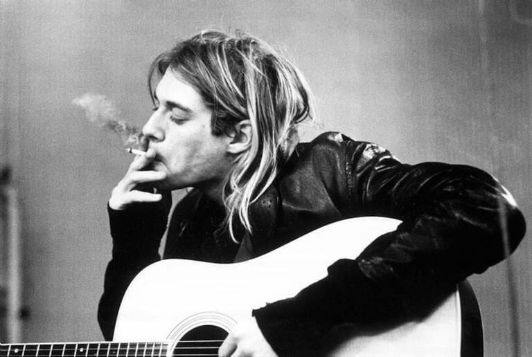 Kurt Cobain by Michael Linssen (1991)