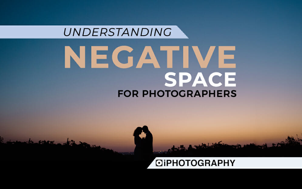 negative space for photographer blog feature