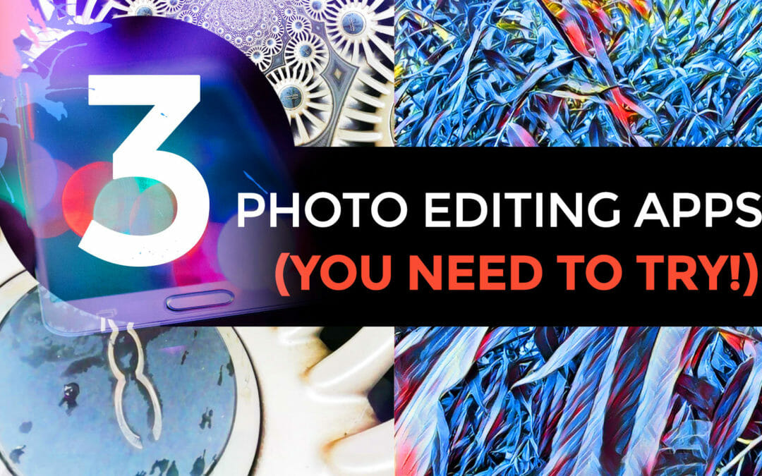 3 Amazing Editing Apps (you NEED to try!)