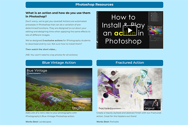 iPhotography Download Page 2