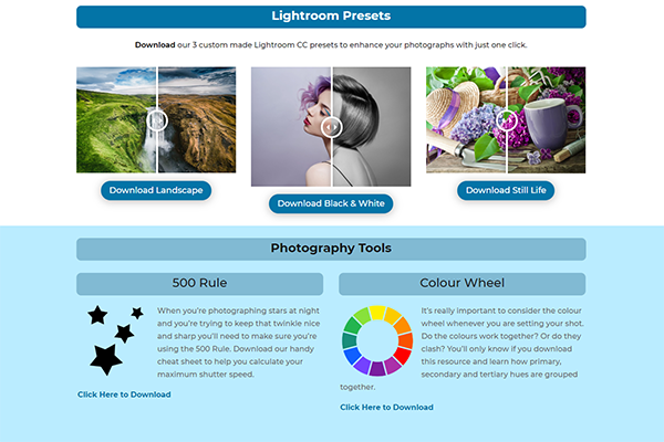 iPhotography Download Page 3