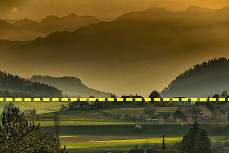 landscape horizon example 2