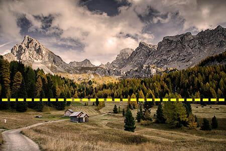 landscape horizon example 1