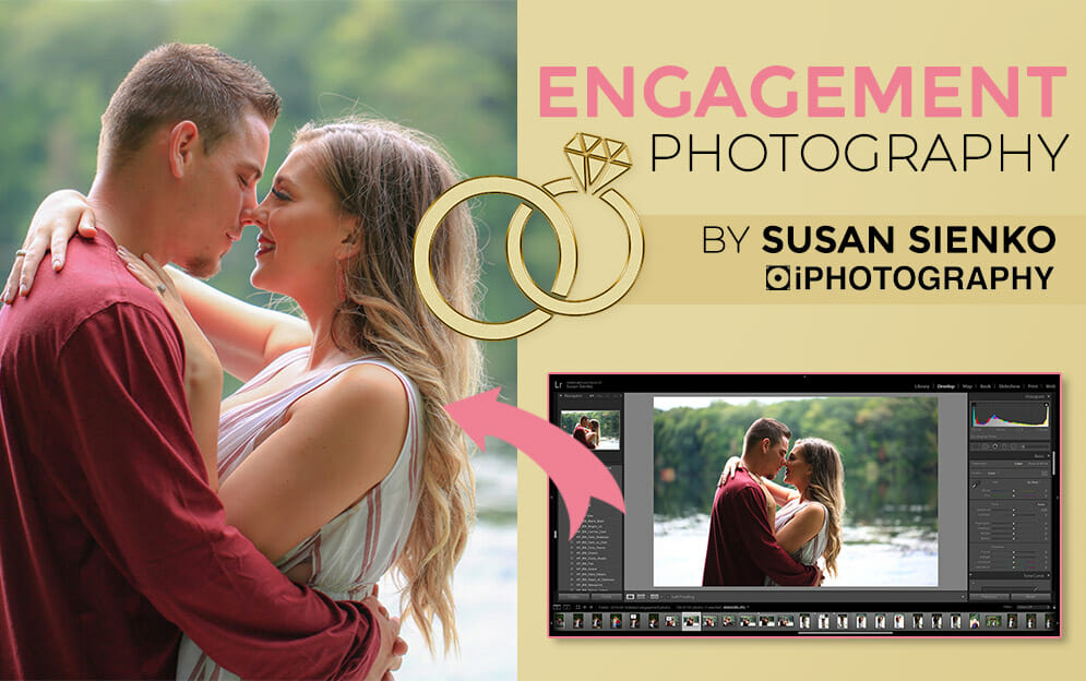 Engagement Photography by iPhotography Student Susan Sienko