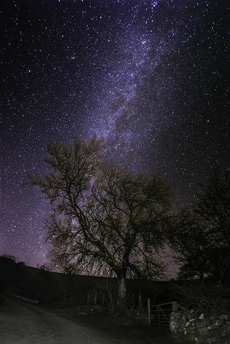 astrophotography in Wales by Emily Lowrey