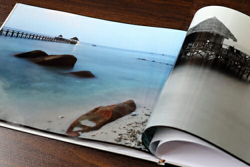 Photography portfolio seascape in book iPhotography developing a style