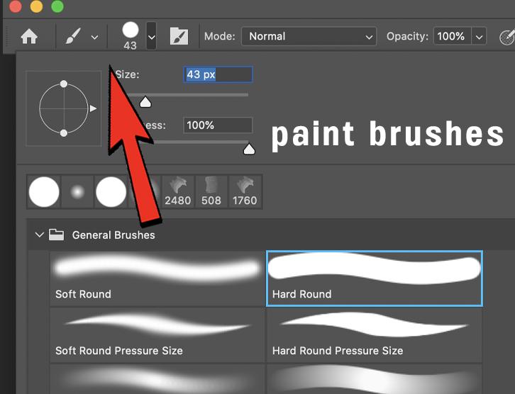 paint brushes photoshop clone photography