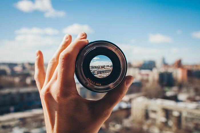 eye photography iphotography looking through a camera lens