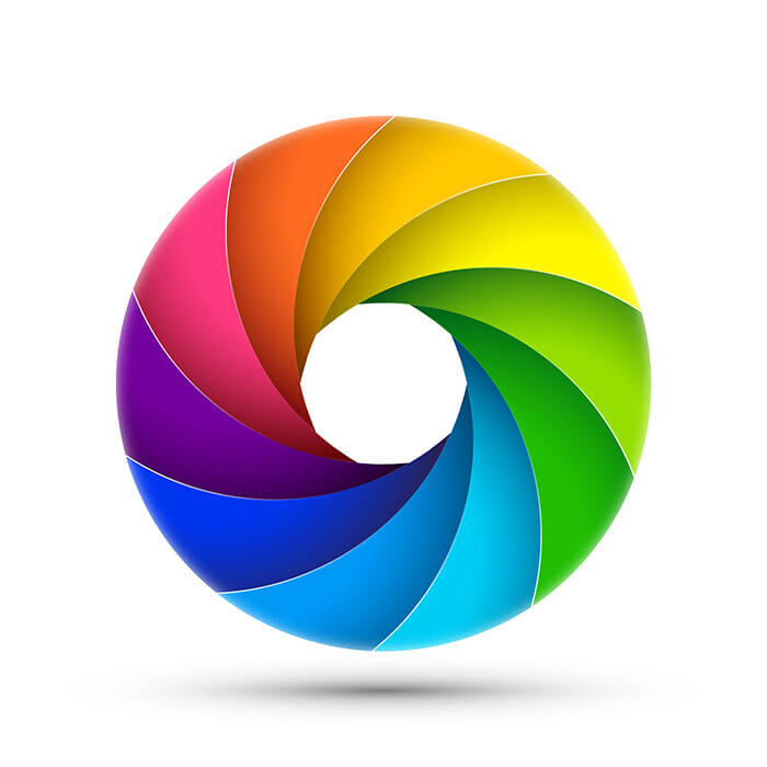 iphotography jargon buster colour wheel aperture