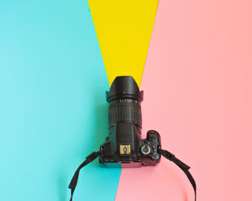 iphotography jargon buster colourful camera DSLR