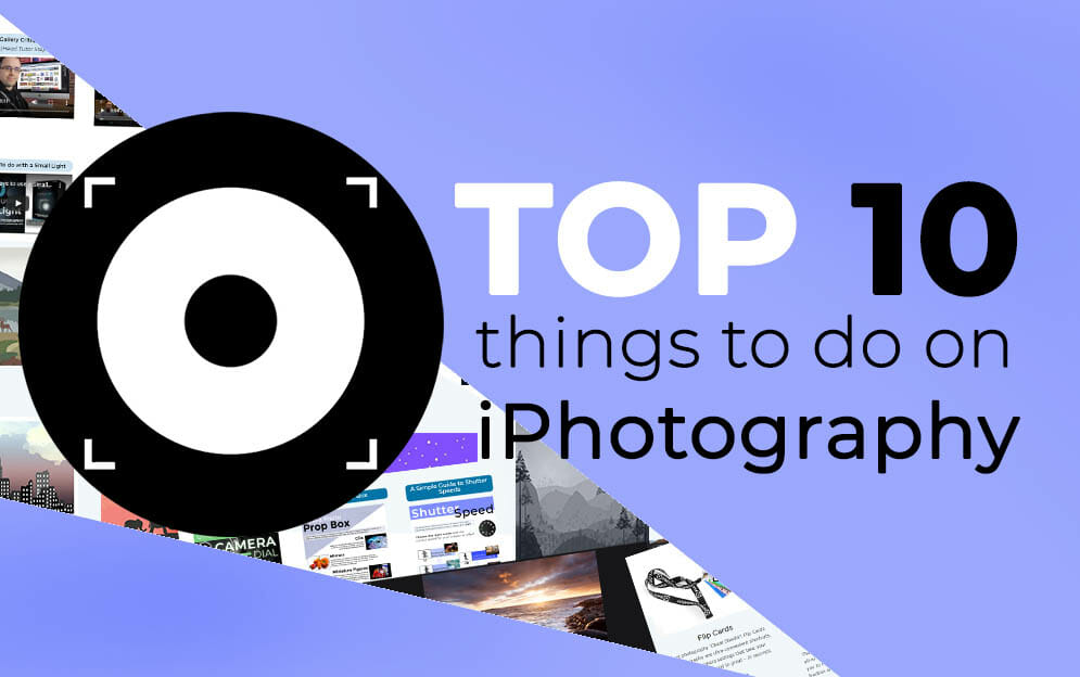 iPhotography Top 10 Community Features
