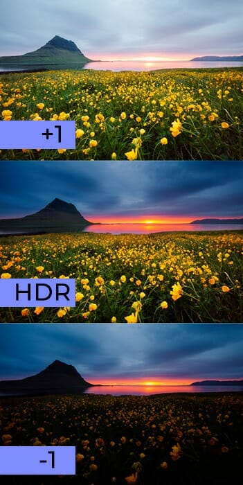 HDR Example on how to get the best exposure - iPhotography
