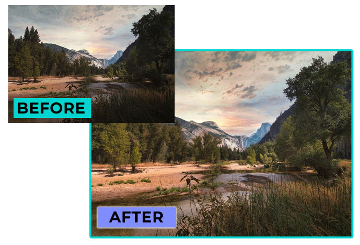 Luminar AI Enhancer iPhotography