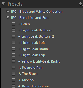 Lightroom Preset iPhotography Course Example image