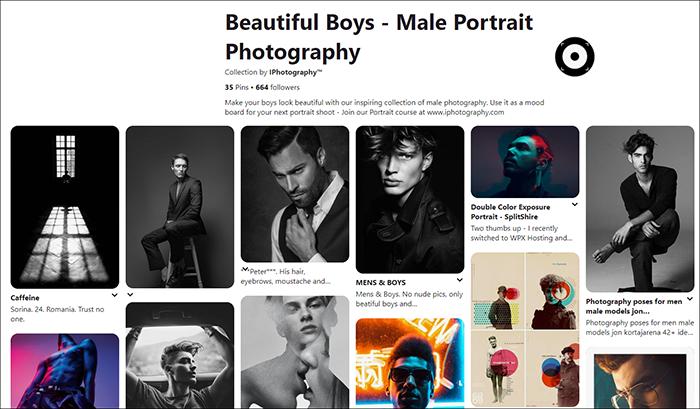 posing men pinterest screenshot iphotography 1