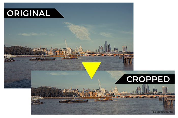 how to edit a photo cropping example 1