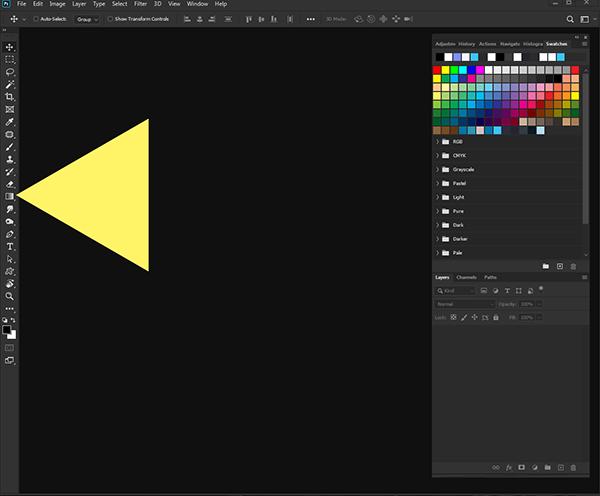 photoshop cc interface