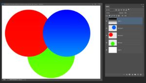 Overlay blend