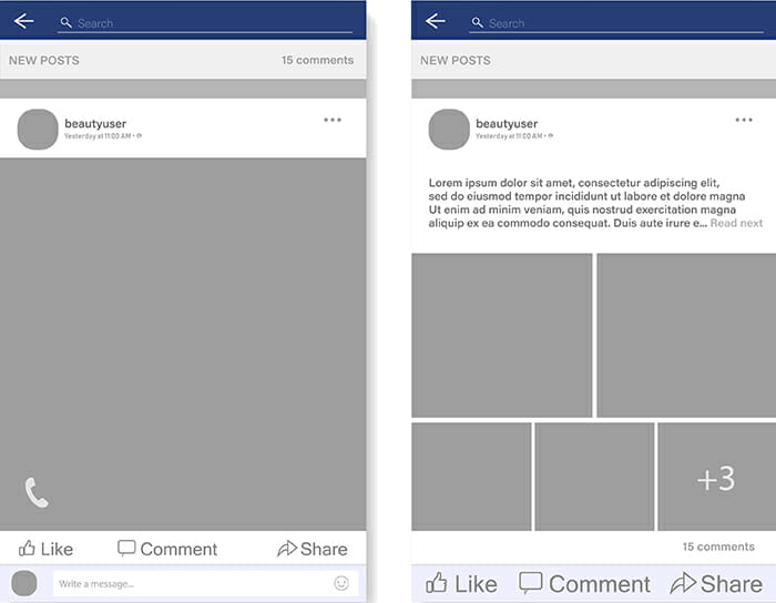 Facebook image size guide example