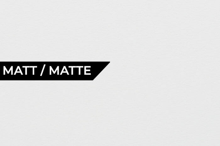 Matt/Matte photo paper - Pearlescent Paper - types of paper for printing photos