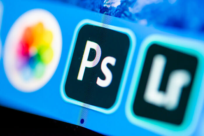 Photoshop CC Icon on a computer