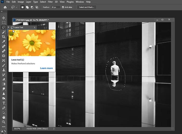 selection tool photoshop