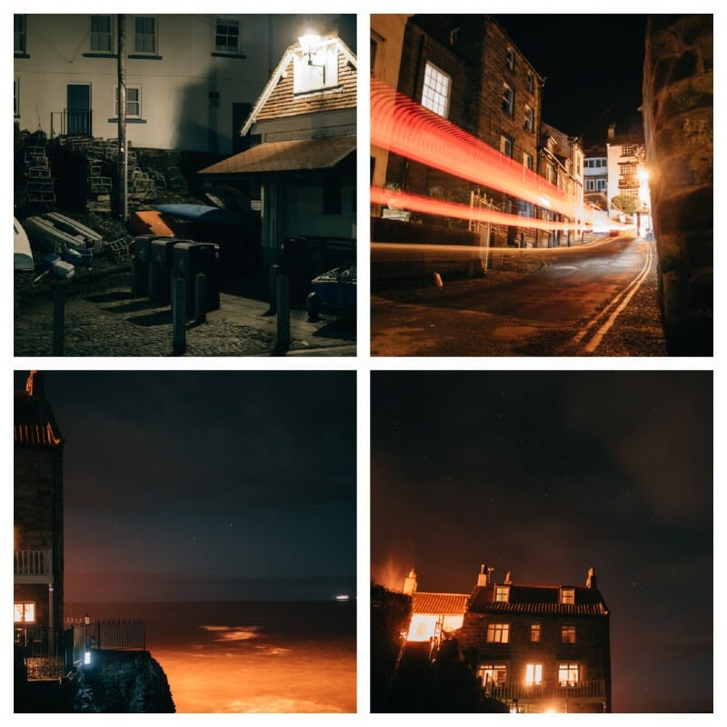village photos example 'photographing villages at night' by Emily Lowrey Copyright 2021