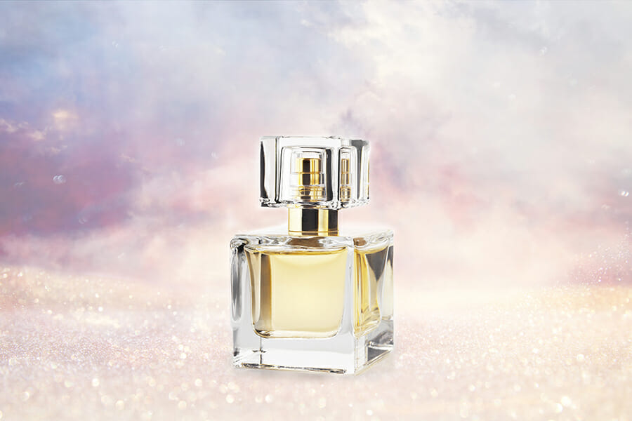 How to Photoshop photos together perfume dream sequence example