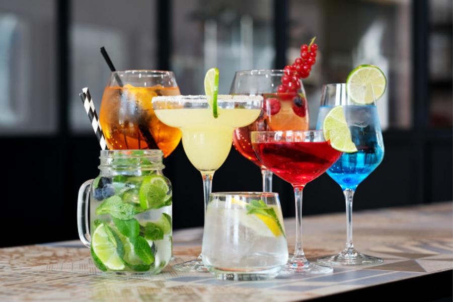 Add Colour in your Glassware