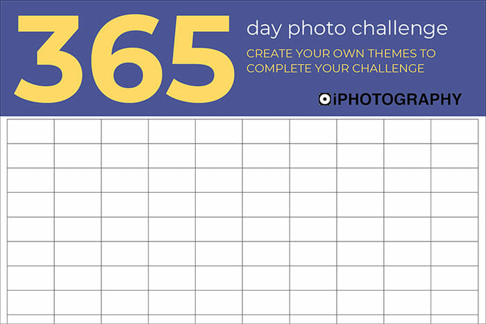 365 Day Photography Challenge by iPhotography-2